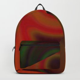 MULTICOLORED TEXTURE ART Backpack