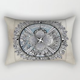 the south, she waits Rectangular Pillow