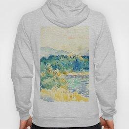 "Henri-Edmond Cross ""Mediterranean Landscape with a White House"" Hoody"