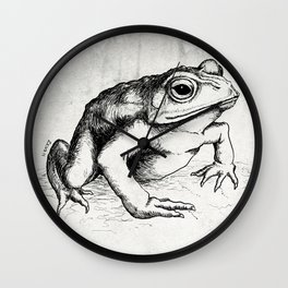 The Toad Wall Clock