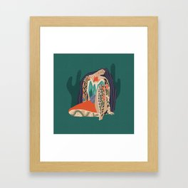 Madre Tierra Framed Art Print