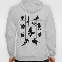 Super Smash Bros Who they are? Hoody