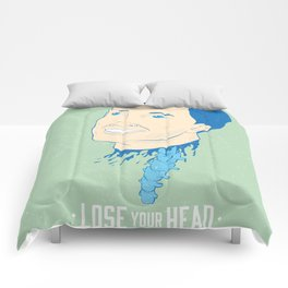 Lose Your Head (Man) Comforters