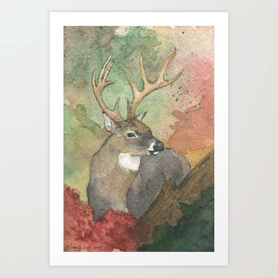 Forest King Art Print