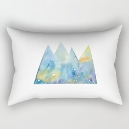 Winter mountains Rectangular Pillow