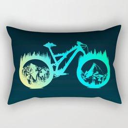 Enduro Bike Rectangular Pillow