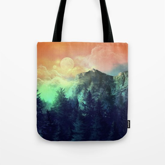 sunset forest 1 Tote Bag