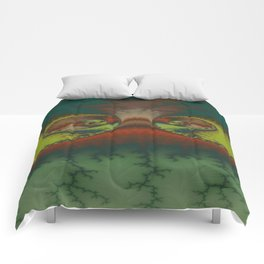 Green Lizard Comforters