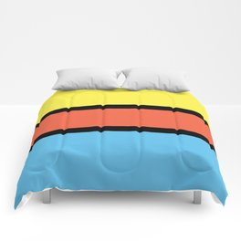 Diversions #1 in Yellow, Orange & Powder Blue Comforters