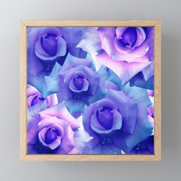 Bouquet de fleur Framed Mini Art Print