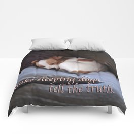 The Truth About Sleeping Dogs Comforters