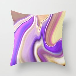 Marble 2 Throw Pillow