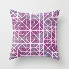 Broken Geometry 2 Throw Pillow