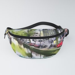 Amsterdam Canal Fanny Pack