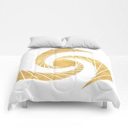 GOLDEN MEAN SACRED GEOMETRIC CIRCLE Comforters