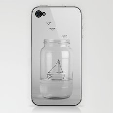Sail with me iPhone & iPod Skin