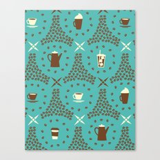 Coffee Hour Canvas Print