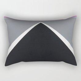 August - mirror pink Rectangular Pillow
