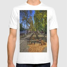 Take a seat Mens Fitted Tee White MEDIUM