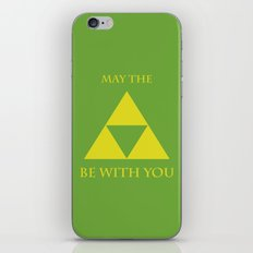 May the triforce be with you iPhone & iPod Skin