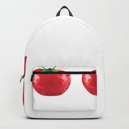 tomato 1x3 pattern, fill, repeating, tiled | elegant Backpack