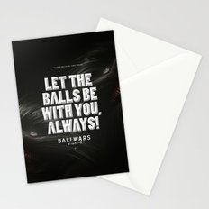 BallWars: Poster Stationery Cards