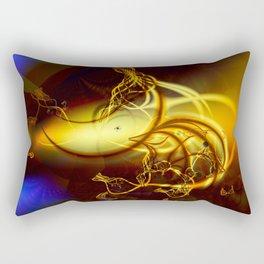 Flaming Tendrils Rectangular Pillow