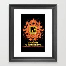 PC Master Race Framed Art Print