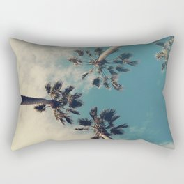 Palm tree, Tropical decor Rectangular Pillow