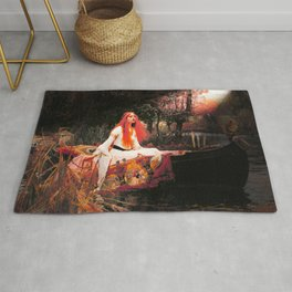 Vivid Retro - The Lady of Shalott Rug