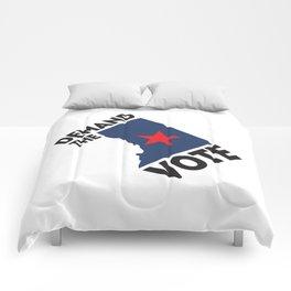 DC Demand the Vote Comforters