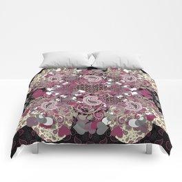 Mature Bush of Pink Love Comforters