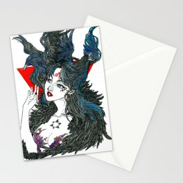 Sailor Mars - Sailor Moon Fanart Stationery Cards