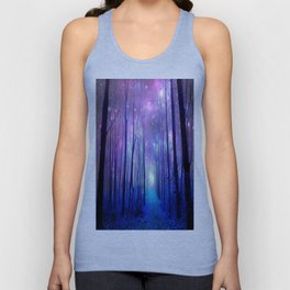 Fantasy Path Purple Blue Unisex Tank Top