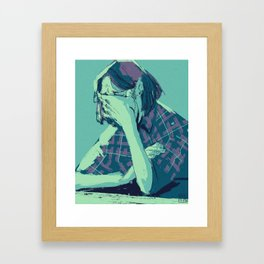 sadmy_100 Framed Art Print