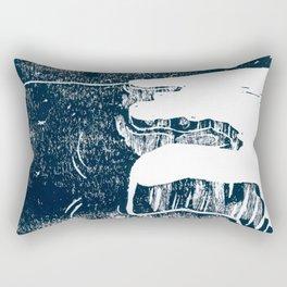 90º N Rectangular Pillow