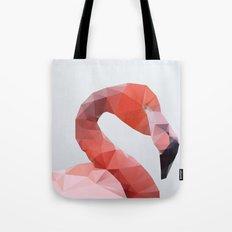 Geometrical - Flamingo Tote Bag