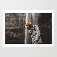 Low Falls Art Print