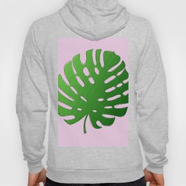 Palm Tree Leaf Art Print Hoody