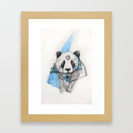 CHEWING IT OVER Framed Art Print