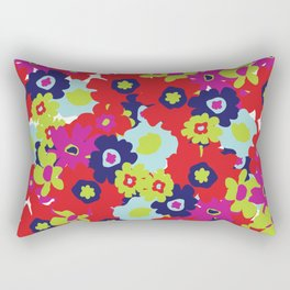 LA Garden - By Sew Moni Rectangular Pillow