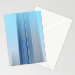 stripes lines distortion blurring faded Stationery Cards