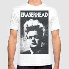 ERASER HEAD - DAVID LYNCH - CINEMA POSTER MEDIUM Mens Fitted Tee White