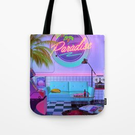 Paradise Wave Tote Bag