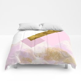Confused Mountains Comforters