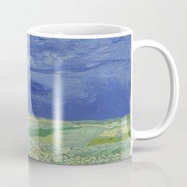 Wheatfield under Thunderclouds Coffee Mug