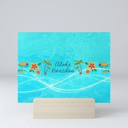 Aloha Beaches Mini Art Print
