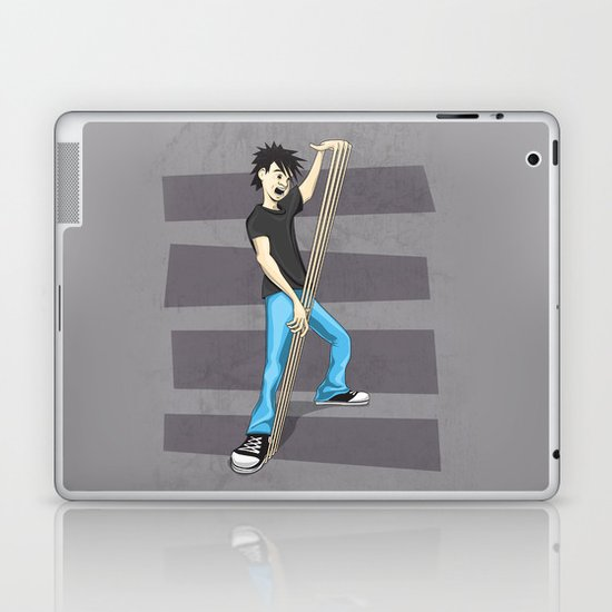 "They call him ""Fingers"" Laptop & iPad Skin"