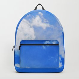 blue cloudy sky std Backpack