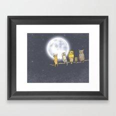 Try blend into Framed Art Print